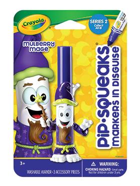 Crayola® marcador Mago      Descripción    Son plumones coleccionables. Juega mientras creas hermosos dibujos con tus plumones disfrazados. Diferentes colores