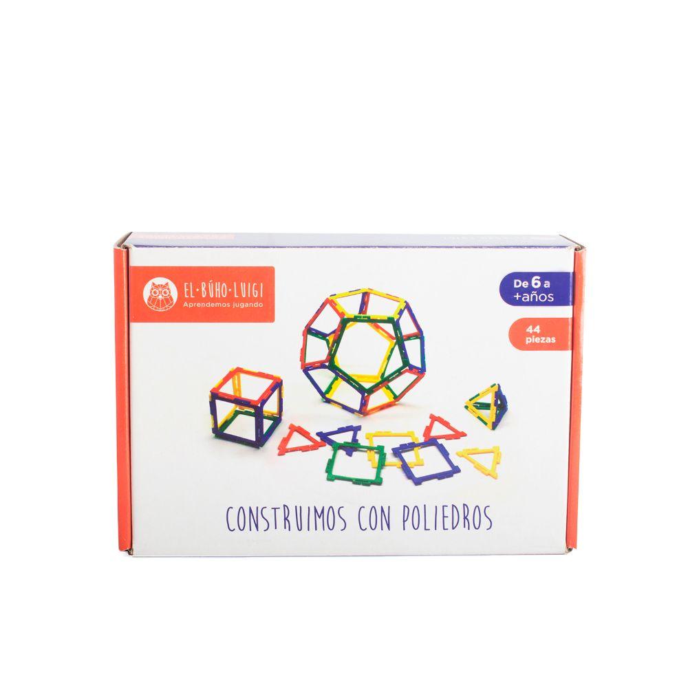 DE 6 AÑOS A MÁS  Este juego facilita la asimilación de manera concreta del concepto de estructura mediante la unión o encaje de figuras geométricas.  Contenido:  • 44 piezas.  • 01 instructivo