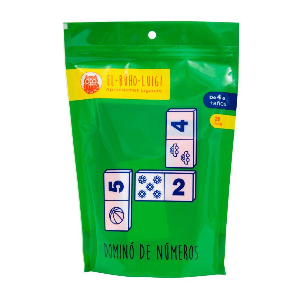 DE 4 AÑOS A MÁS  Es un material educativo que contribuye al desarrollo de las habilidades del pensamiento, la imaginación y la memoria. A través del material el niño manipula, construye y relaciona las piezas del juego, relacionando el número y la cantidad.  Contenido:  • 28 piezas  • 01 instructivo