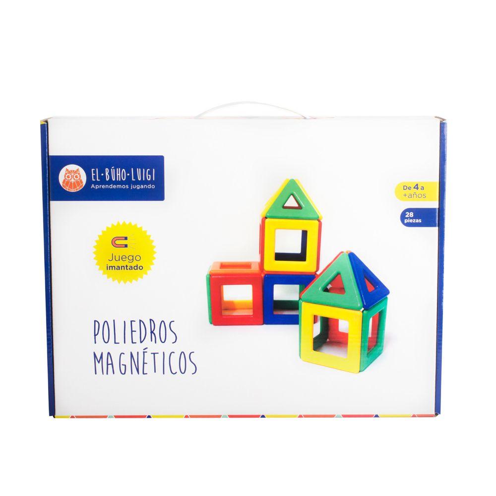 DE 4 AÑOS A MÁS  Es un material didáctico interactivo que contribuye al aprendizaje de colores, figuras y cuerpos geométricos, además estimula el desarrollo de la imaginación y la creatividad.  Contenido:  • 28piezas.  • 01 instructivo