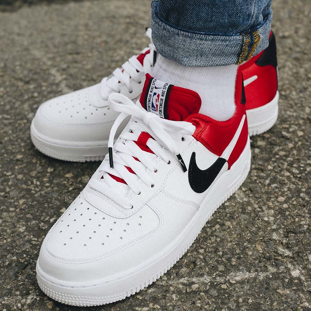 NIKE - Air force 1 Low 07 LV8 NBA Chicago Bulls - ZAPATILLAS ...