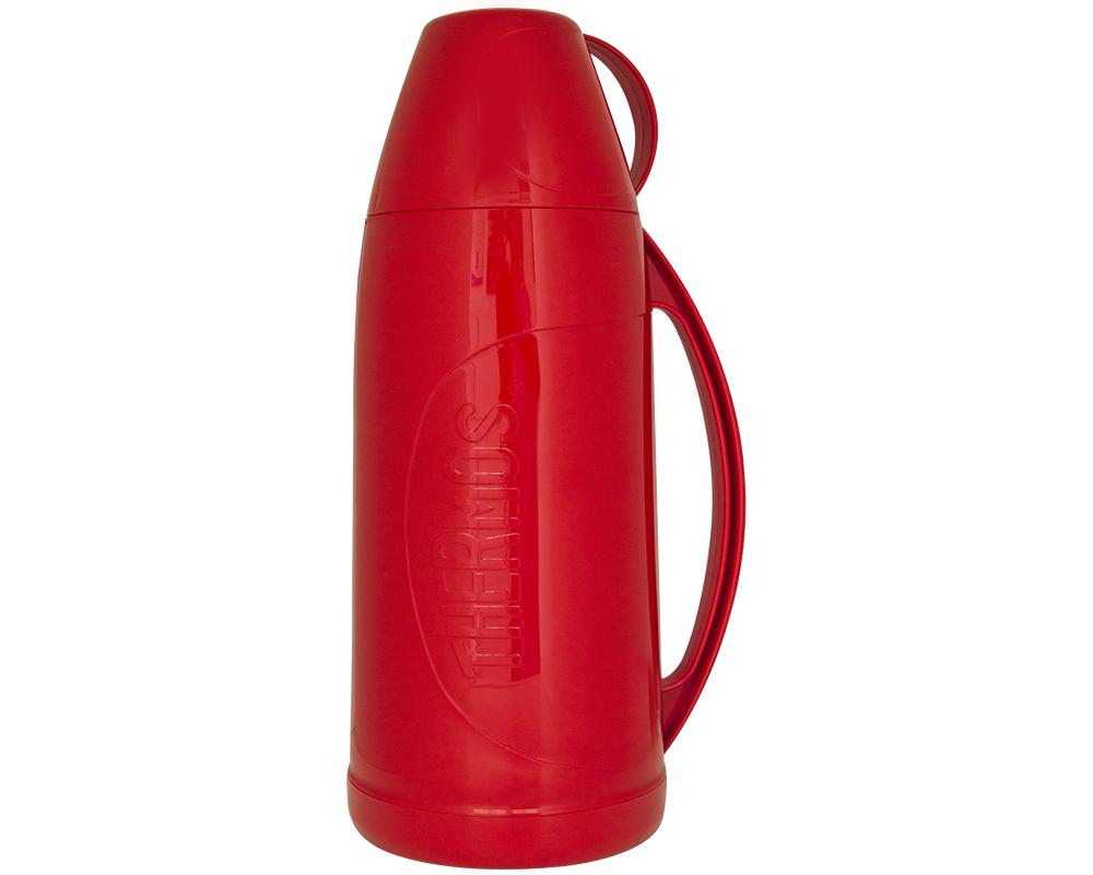 CARACTERÍSTICAS:   Envase isotérmico con ampolla de vidrio interna   Exterior de plásticolibre de BPA   Aislamiento al vacío   Líquidos fríos y calientes   Mantiene bebidas calientes por 12 horas y frías por 24 horas   No conserva olores.