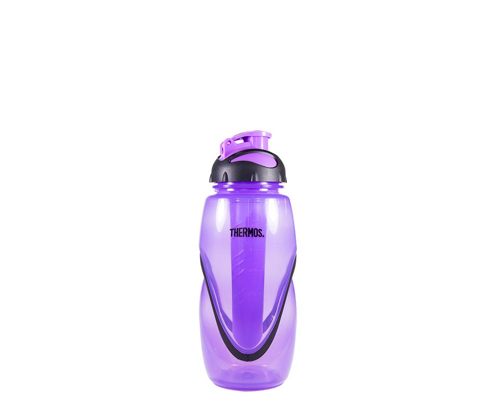 Características:  Capacidad: 450ML. Material: Polipropileno. Tapa fácil de abrir. Libre de BPA Incluye tubo para hielo Ideal para, durante y después, de hacer ejercicio. No retiene olores