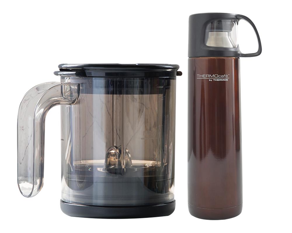 Incluye:  Thermos® 500ml de acero para líquidos habano Konstar® café pro mug