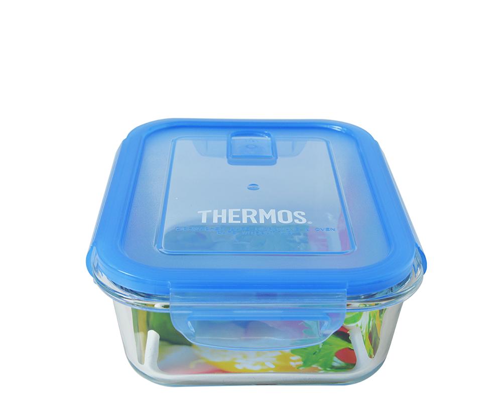 Características:  Capacidad:1050ML. Material: Interior y exterior de vidrio. Tapa hermética y anti-derrame. Apto para horno convencional y microondas (usar sin tapa) Botón de sellado al vacío (bloquea el aire exterior y previene humedad interna) Libre de BPA. Fácil transporte y limpieza. Medidas: 20 cm largo x 15 cm ancho x 7 cm alto