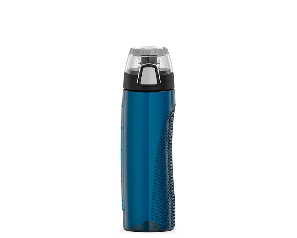 Características:  Capacidad: 710ml. Material: tritán. Tapa fácil de abrir. Libre de bpa Incluye medidor de consumo giratorio. Ideal antes, durante y despues de hacer ejercicio. No retiene olores.