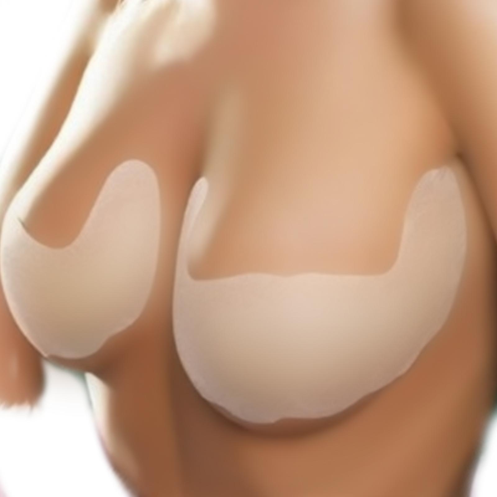 -Fácil de aplicar y remover -Material microporoso -Realza la figura del busto