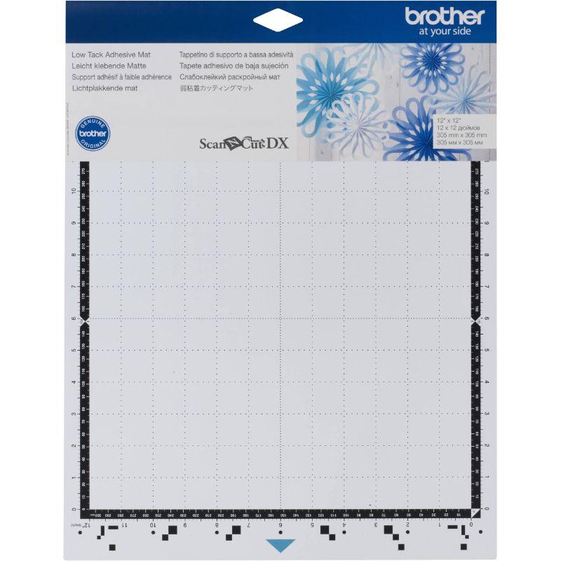 Tapete adhesivo baja sujeción. Especialmente diseñado para papeles delgados o delicados  Se utiliza con la Brother ScanNcut DX.