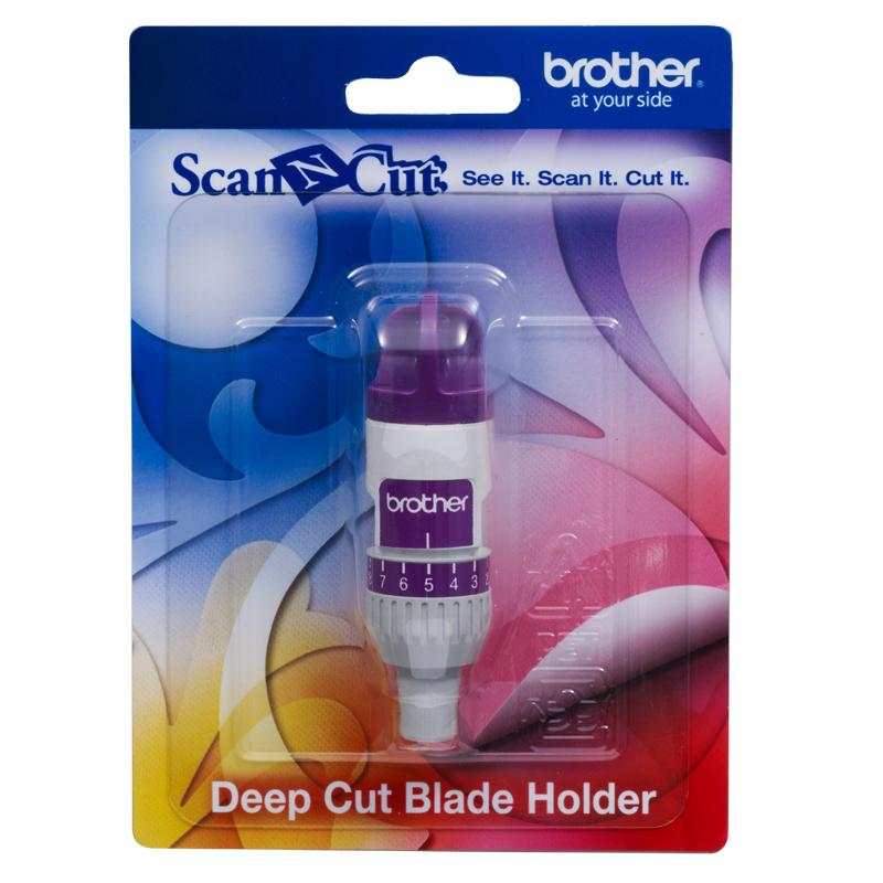 Para utilizar con la cuchilla para corte profundo de la máquina para cortar Brother. (sin cuchilla)