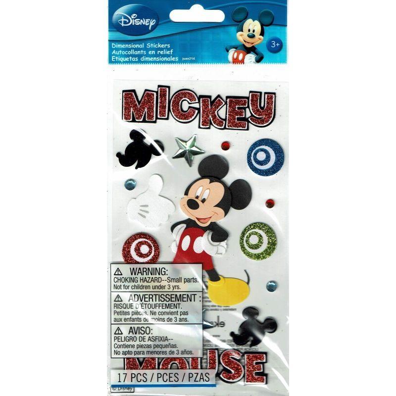 Las pegatinas de Mickey Mouse Disney Collection son perfectas para hacer tarjetas, fiestas de cumpleaños o simplemente para celebrar la vida cotidiana. La hoja de la pegatina mide 10 x 17,8 cm. 1 hoja por paquete.