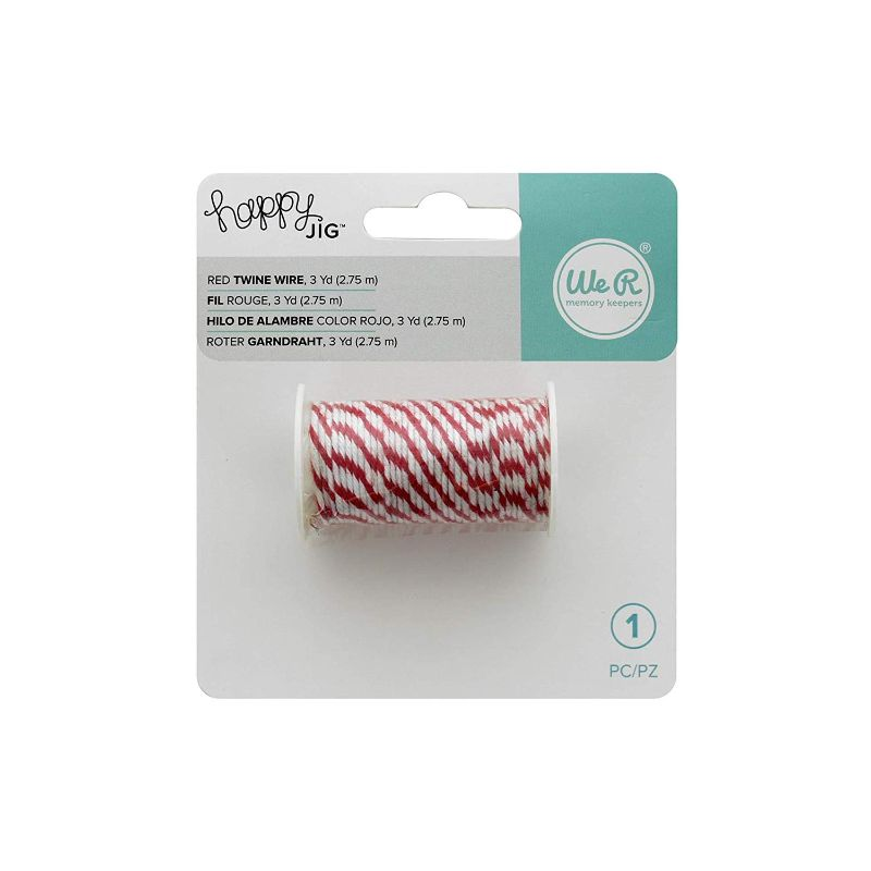 Longitud: 2,75 m. Alambre maleable y flexible recubierto de cuerda twine.