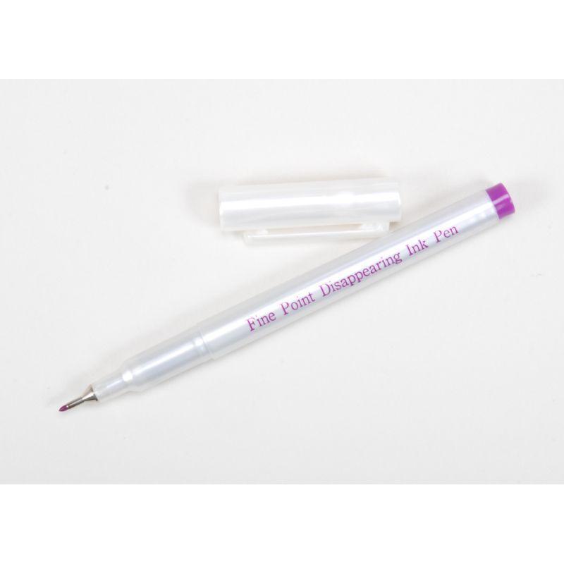 Marcador de punta fina para un marcado más preciso.La marca púrpura brillante desaparece en 48 a 72 horas sin lavar.