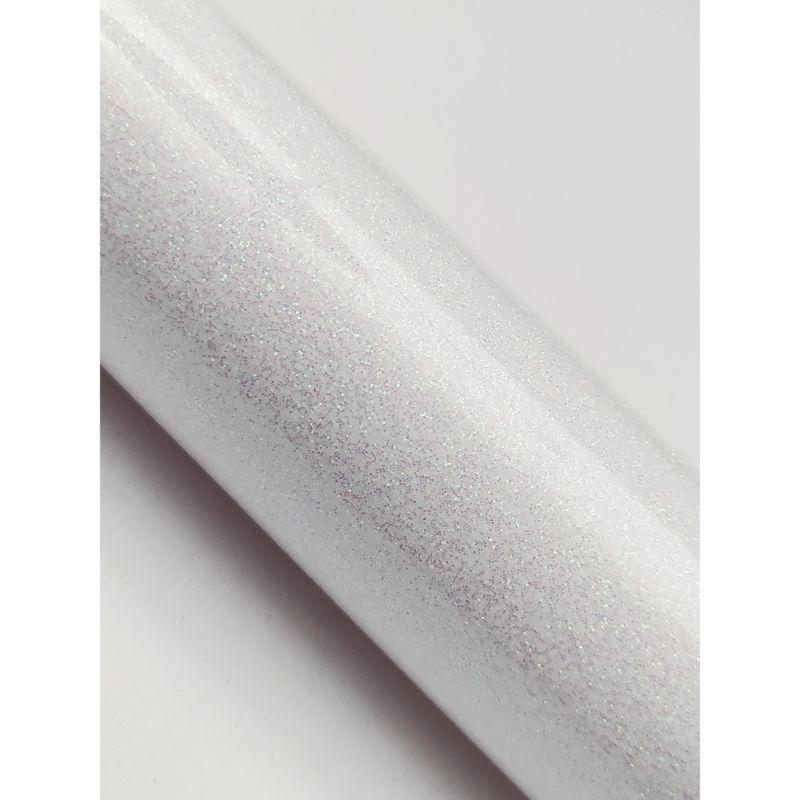 Vinil thermoadherible Glitter, para estampado  Se aplica al algodon, Poliéster y mezclas mixtas.  Es totalmente lavable y resistente.  Tiene excelentes propiedades para el corte.  50 x 52 cm aprox.  Grupo Scrapyart