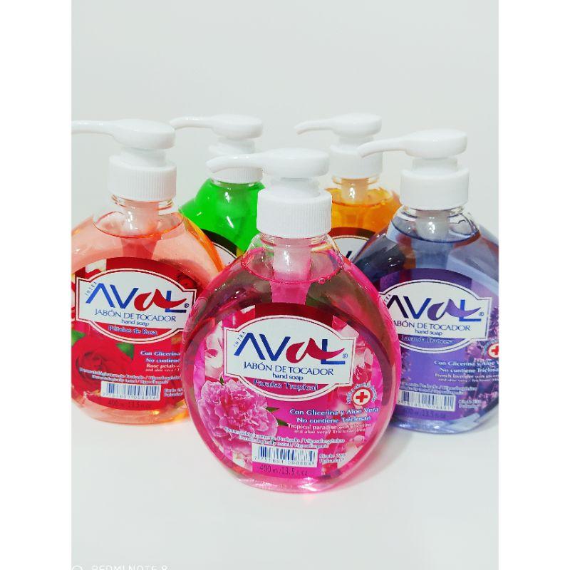 Jabón líquido en frasco de400 ml. Fragancias de acuerdo al stock.  Grupo Scrapyart