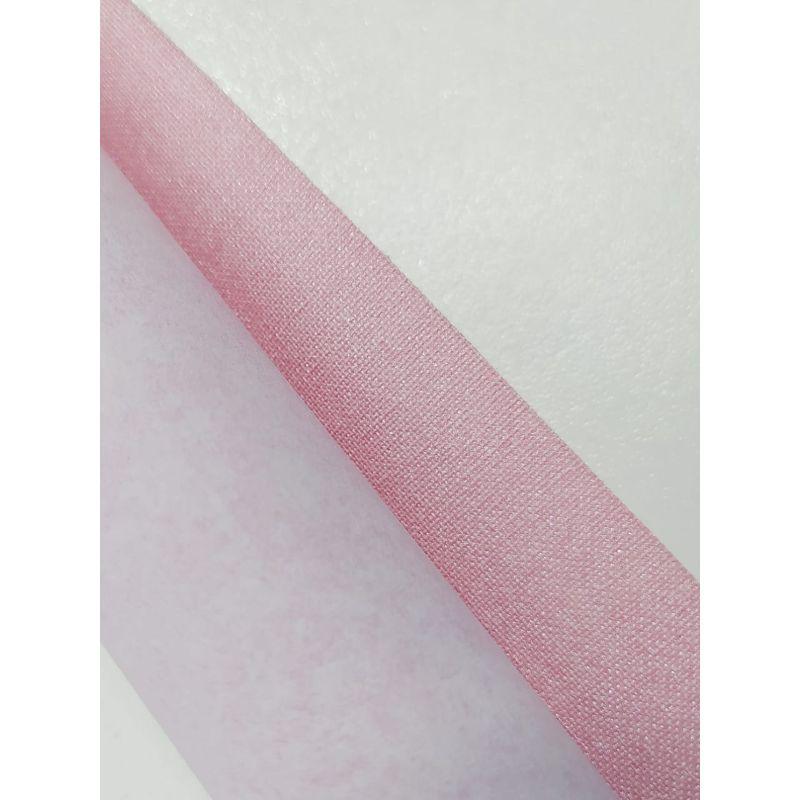 Lino rosado Metalico  Lino, ideal para tus proyectos de álbumes , encuadernacion, cartonaje y otras manualidades.  60cm aprox.  Equipo Scrapyart
