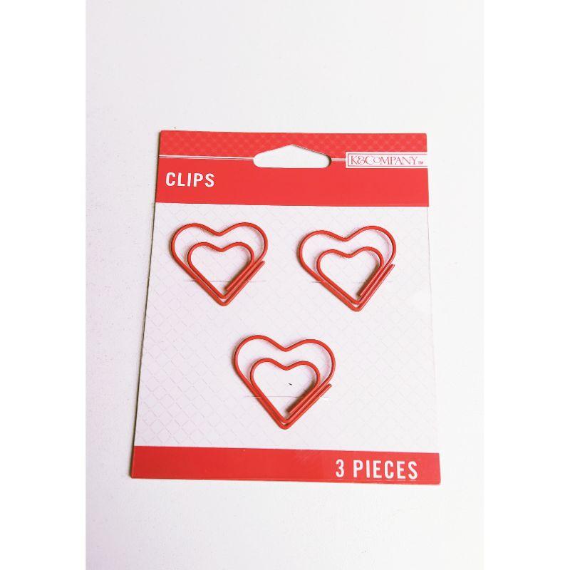 Clips en forma de corazones , perfectos para decorar tus proyectos de tarjetería, lbumes de fotos y otras manualidades finas.  Equipo Scrapyart