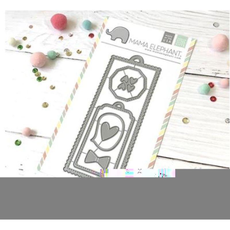 Troquel Bookmark It  Este troquel de Mama Elephant es compatible con las siguientes máquinas: Evolution Advanced, QuicKutz Revolution, Sizzix / Ellison Big Shot, BigKick, CuttleBug, SpellBinders Wizard, SpellBinders Grand Calibur y Accucut Zip'eMate. 100% garantizado que este troquel corta en las máquinas anteriores.  Corta papel, cartulina ypaño lenci.  Equipo Scrapyart