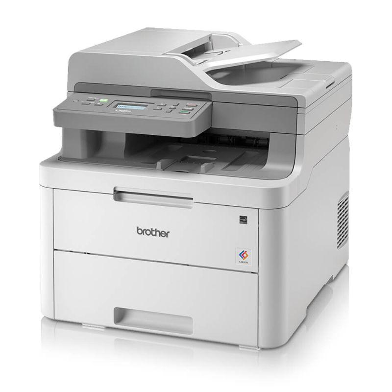 Impresora Multifuncional DCP-L3551CDW  Disfruta de impresiones en colores intensas y vívidas que   causan una impresión duradera.  -Copia, imprime y scanea full color.  -Impresión Dúplex que ayuda en ahorrar en papel.  - Tamaño de papel hasta oficio.  - Velocidades de impresión rápidas de hasta 19 ppm.  - Bandeja de papel con capacidadhasta 250 hojas  - Alimentador automático de documentos de 50 hojas para   copiasde múltiples páginas, escaneos y faxes.  - Opciones de conexión versátiles con Wi-Fi incorporado o   conexión local a una sola computadora a través de la       interfazUSB.  - Impresión inhalámbrica desde su teléfono inteligente,      tableta,computadora portátil y escritorio.  -Resolución máxima: 2400 x 600 DPI.  -Memoria interna: 512 MB.  -Garantía un año.   Hacemos delivery a todo el Perú.   Equipo Scrapyart        