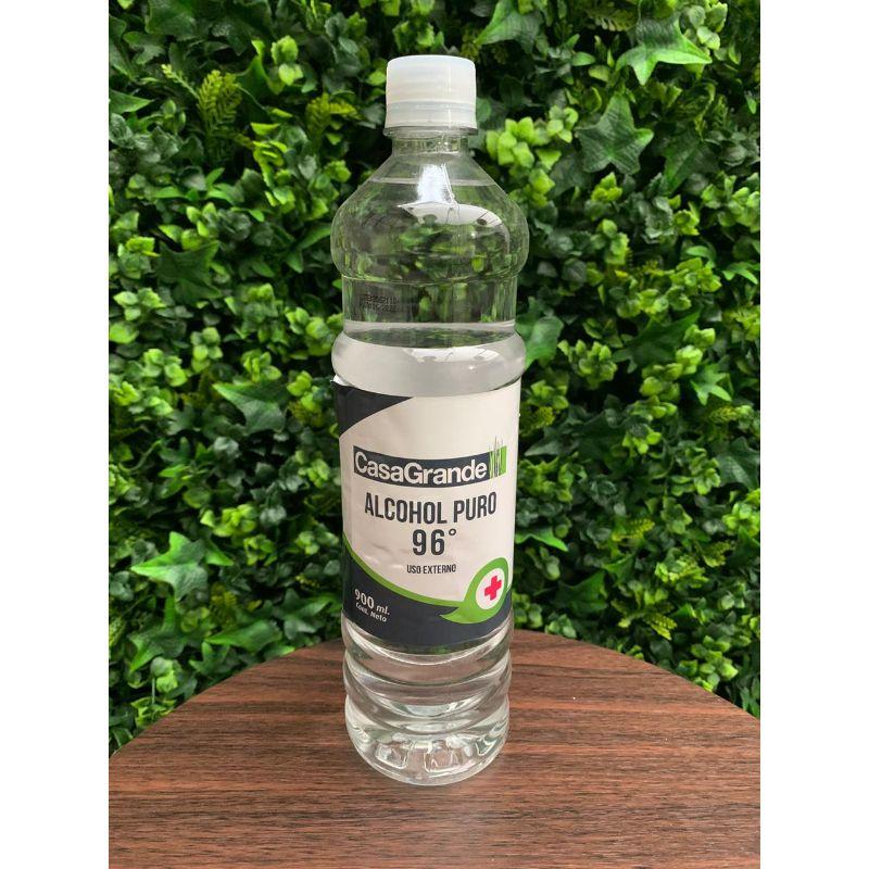 Alcoholde 96º en envase de 900 ml..  Forma física: Líquido  Color: Incoloro  Equipo Scrapyart