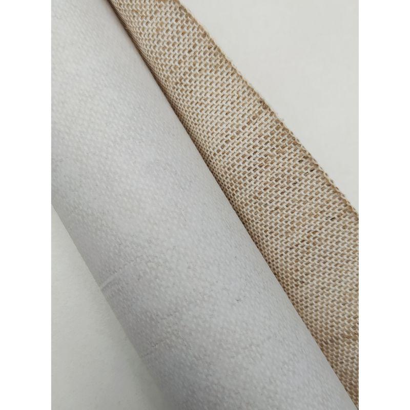 Lino natural con Textura  Lino tejido con textura , ideal para tus proyectos de álbumes , encuadernacion, cartonaje y otras manualidades.  60cm aprox.  Equipo Scrapyart