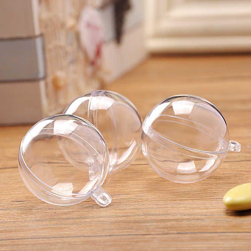 Esferas transparentes para personalizar!  12 unidades  Diámetro: 8cm  Ideales para tus proyectos decorativos .  Equipo Scrapyart