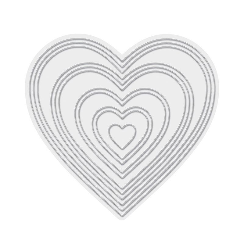 Troquel de diseño exclusivo de WeR Memory Kepperde excelente aleaciónque garantiza su durabilidad, buen corte, perfecto embossado y libre de corrosión. Es compatible con todas las marcas conocidas de troqueladoras como: WeR, Sizzix ,Ellison , CuttleBug, SpellBinders entre otras.  Corta papel, cartulina , foami, tela ,paño lenci, láminas de aluminio.  Incluye : 11 troqueles delgados  Equipo Scrapyart