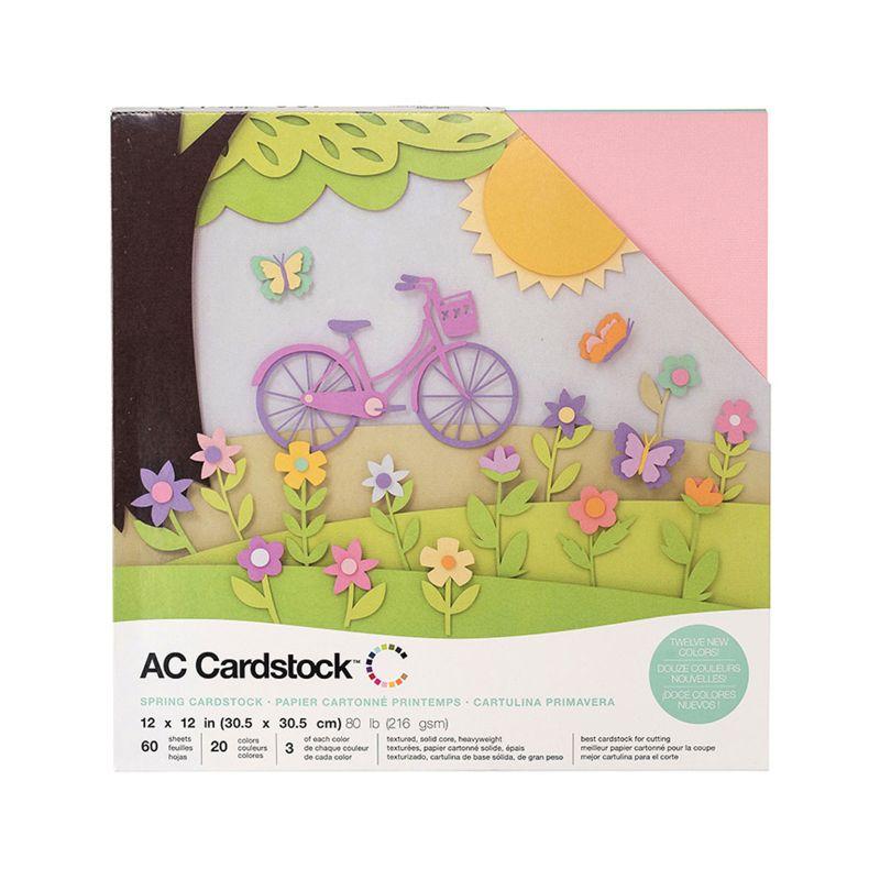 Pack de 60 cartulinas Primavera  Contenido : 60 unidades en color pastel ( 20 colores , de cartulinas de cada color)  Medida: 30. 5 x 30. 5 cm    Equipo Scrapyart