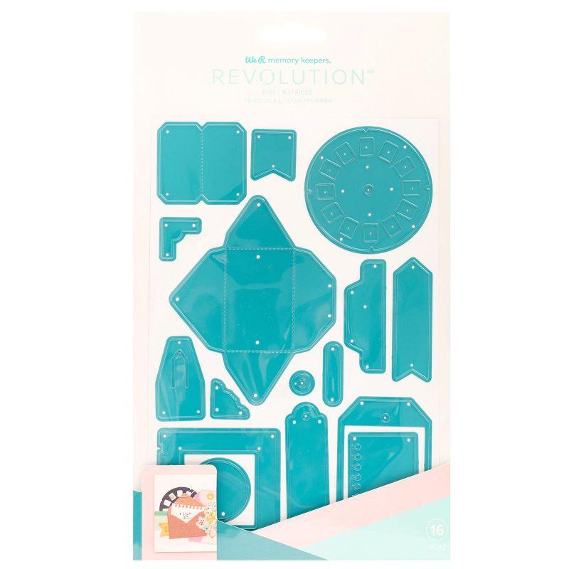 Troquel Dies Ecletic Vintage  Combina tu máquina con troqueles con forma para crear proyectos únicos en todo momento. Utiliza tus colores y patrones favoritos para personalizar.  Este paquete incluye 16 troqueles vintage eclécticos para darle a tu proyecto algo de dimensión y textura.    Equipo Scrapyart