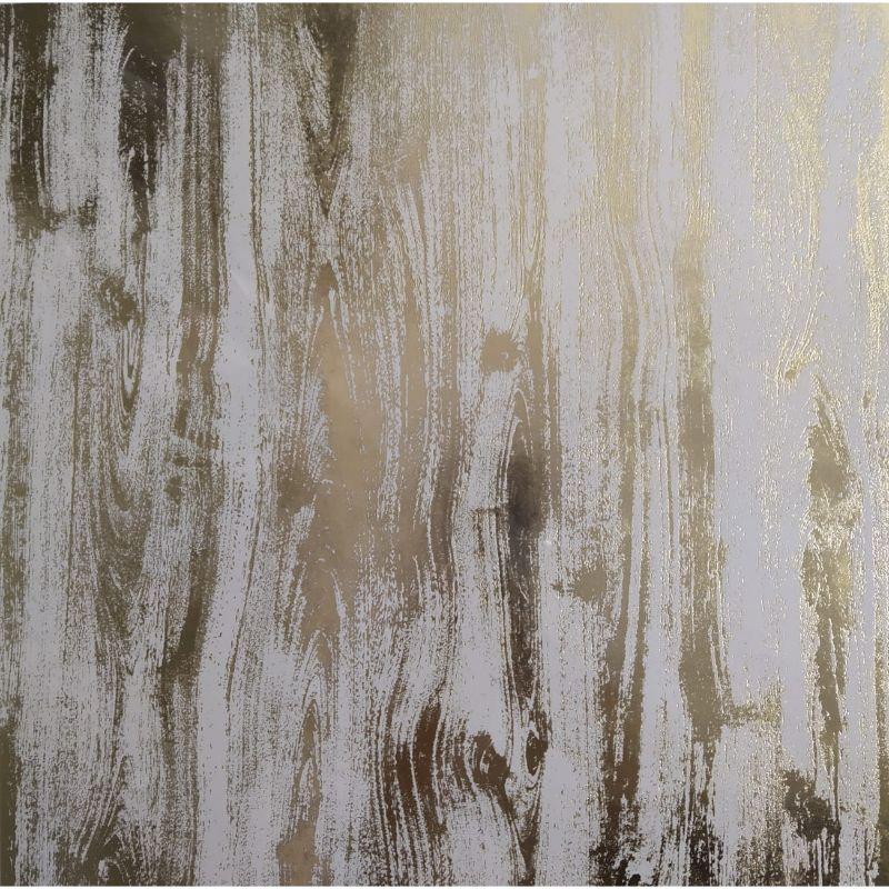 Cartulina con Diseños Gold Wood  Medida: 30x30 cm  Equipo Scrapayrt