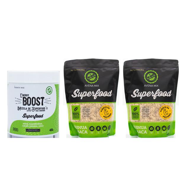 ¡Comienza el día lleno de energía con este mix Superfood!
