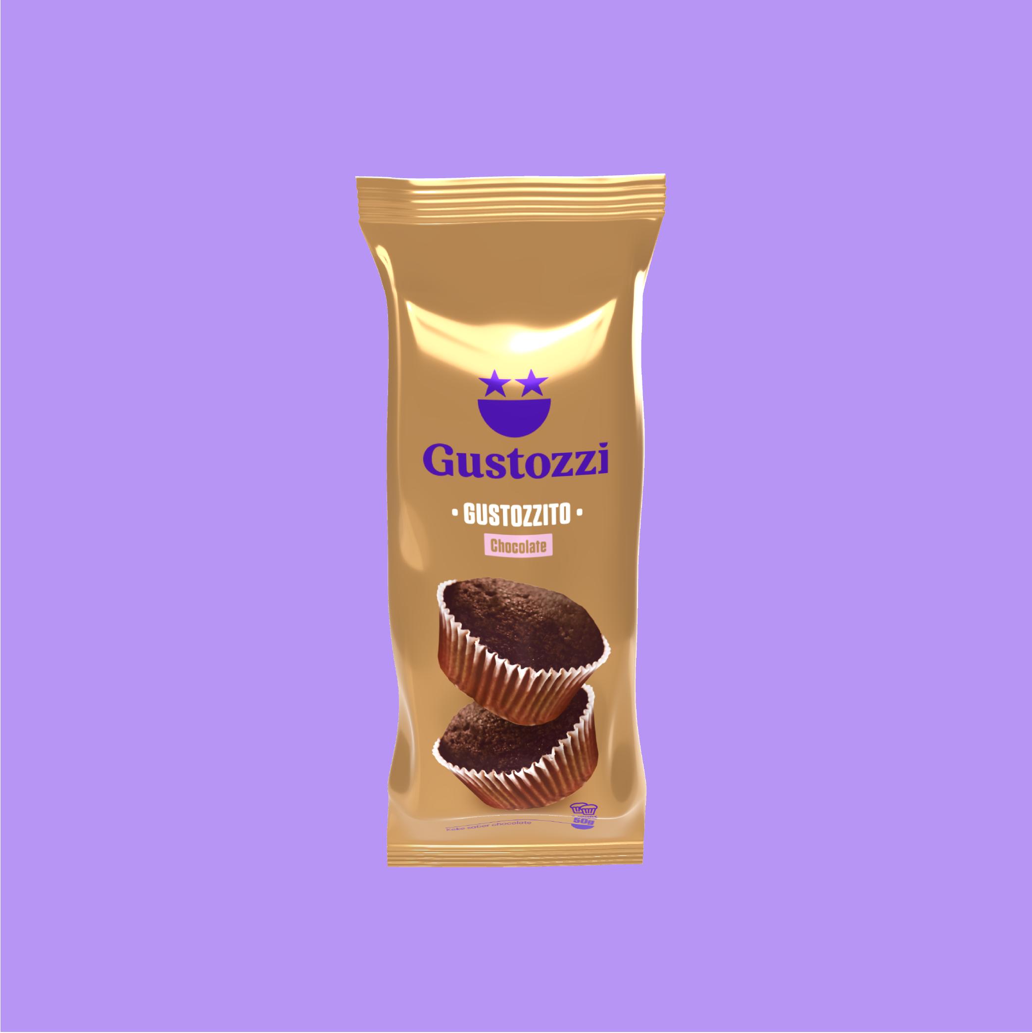 Disfruta 2 kekitos consabor a chocolate, hechos como en casa. No contiene octógonos.