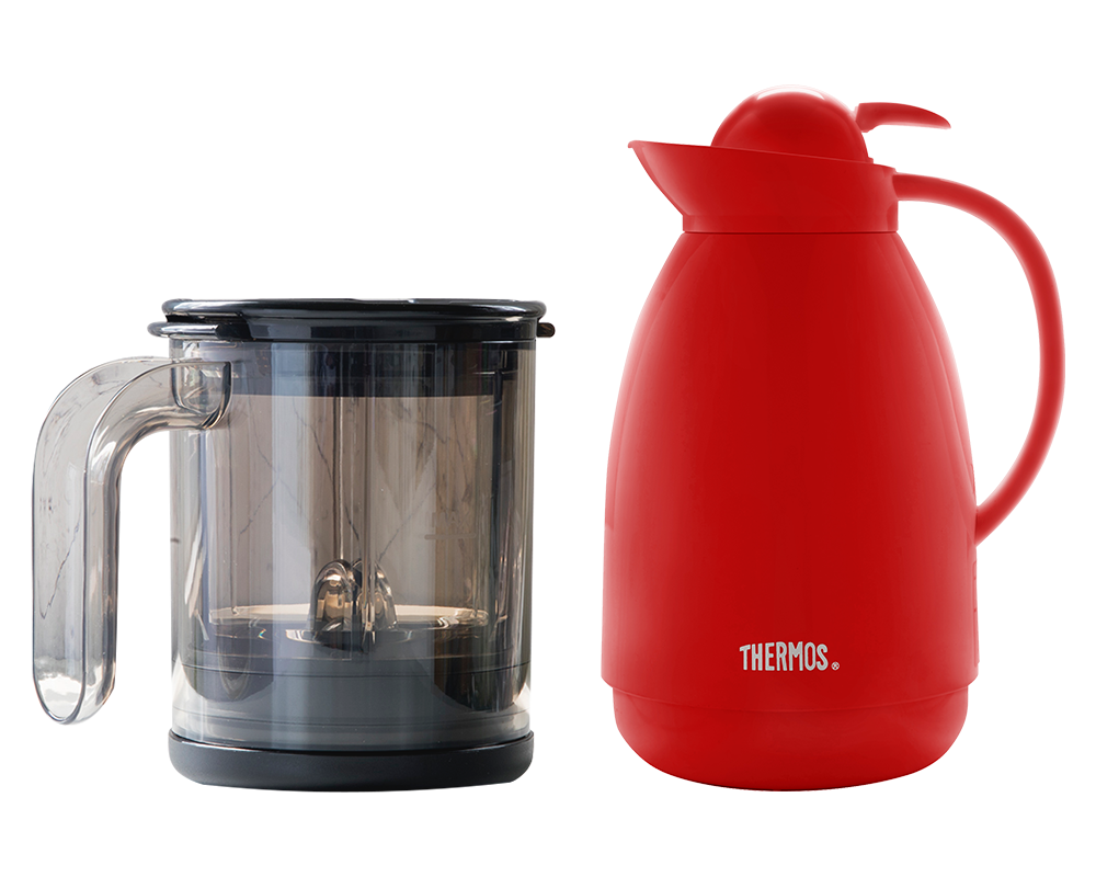 INCLUYE:  • 1 jarra 1L THERMOS® + CAFÉ PRO MUG KONSTAR®