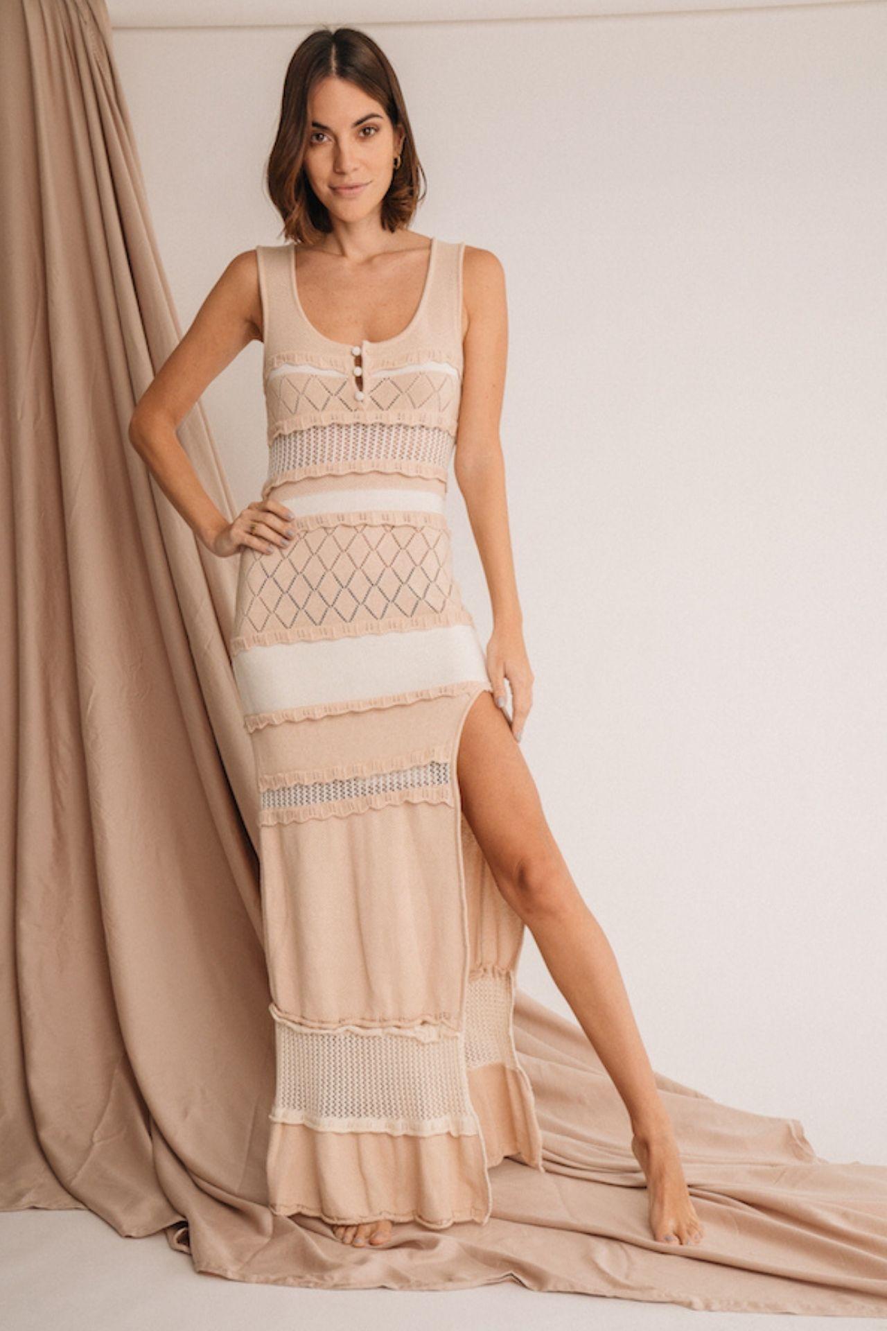 Vestido tejido tania  Prenda tejida de 100% algodon  Este producto se entrega 15 dias despues de haber realizado la compra