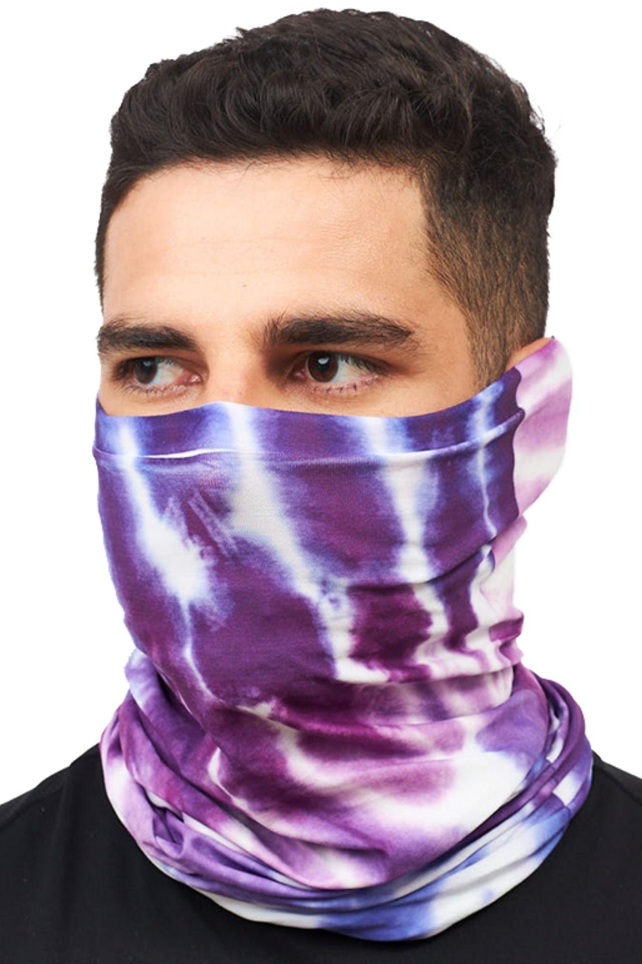 Superfit seamless bandana light microfibra multifuncional sublimado tie dye